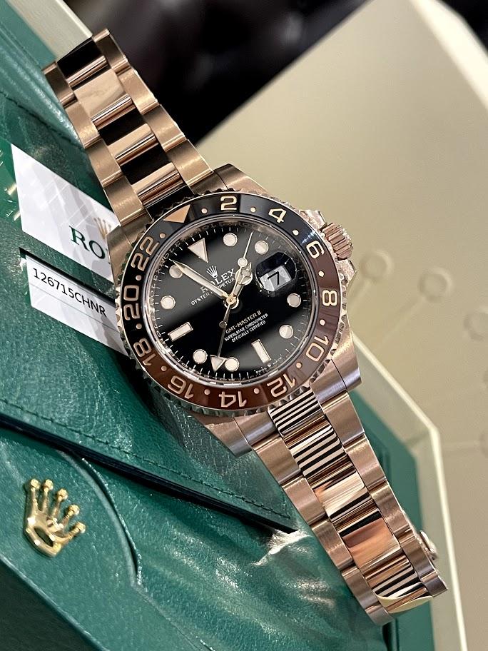 GMT-Master II 40 mm, Everose gold 126715CHNR-0001 #1