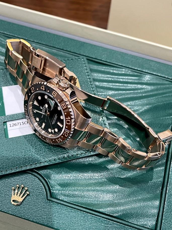 GMT-Master II 40 mm, Everose gold 126715CHNR-0001 #3