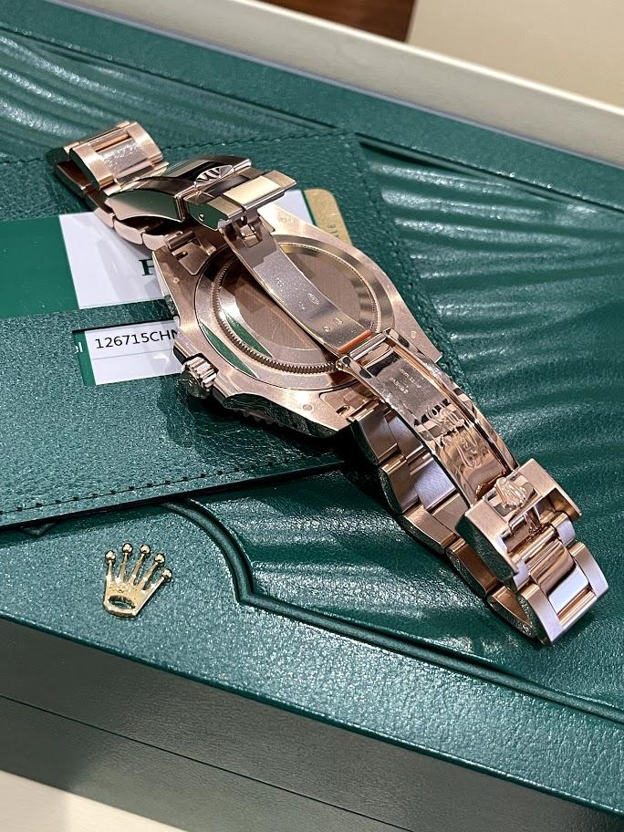 GMT-Master II 40 mm, Everose gold 126715CHNR-0001 #2