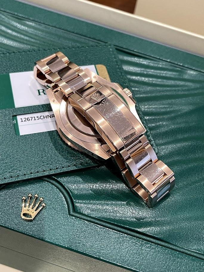 GMT-Master II 40 mm, Everose gold 126715CHNR-0001 #5