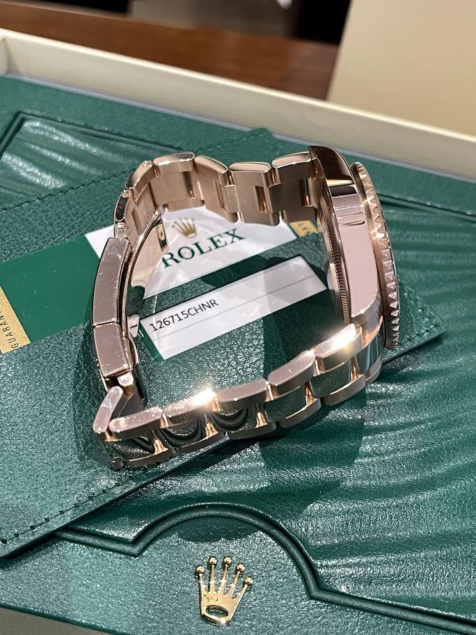 GMT-Master II 40 mm, Everose gold 126715CHNR-0001 #4