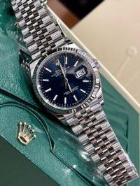Швейцарские часы Rolex Datejust 36mm Steel and White Gold 126234-0017