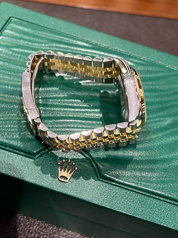 Datejust 36 mm, Oystersteel and yellow gold 126233-0025 #4