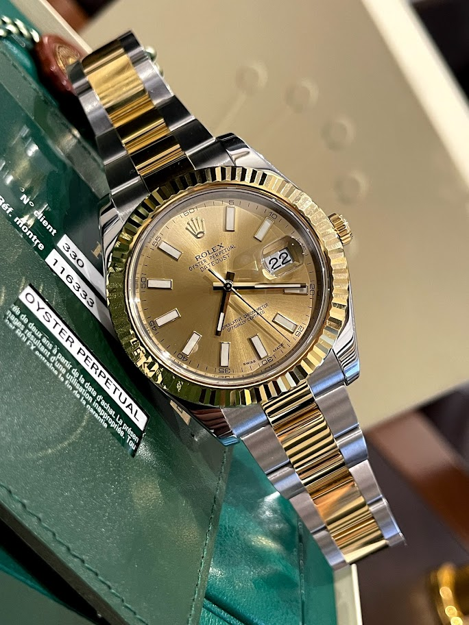 Datejust II 41mm Steel and Yellow Gold 116333-0009 #1