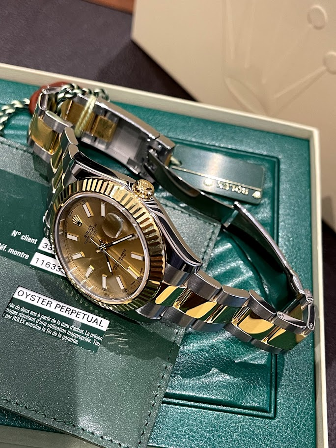 Datejust II 41mm Steel and Yellow Gold 116333-0009 #3