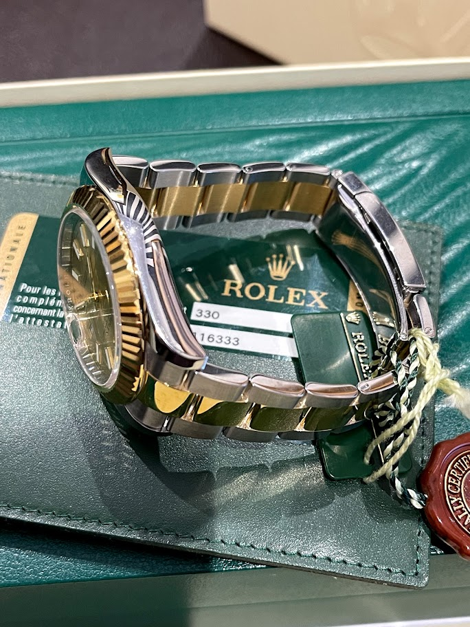 Datejust II 41mm Steel and Yellow Gold 116333-0009 #4