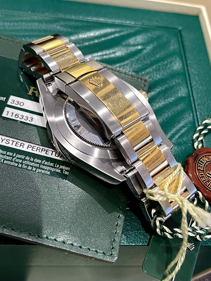 Datejust II 41mm Steel and Yellow Gold 116333-0009 #5