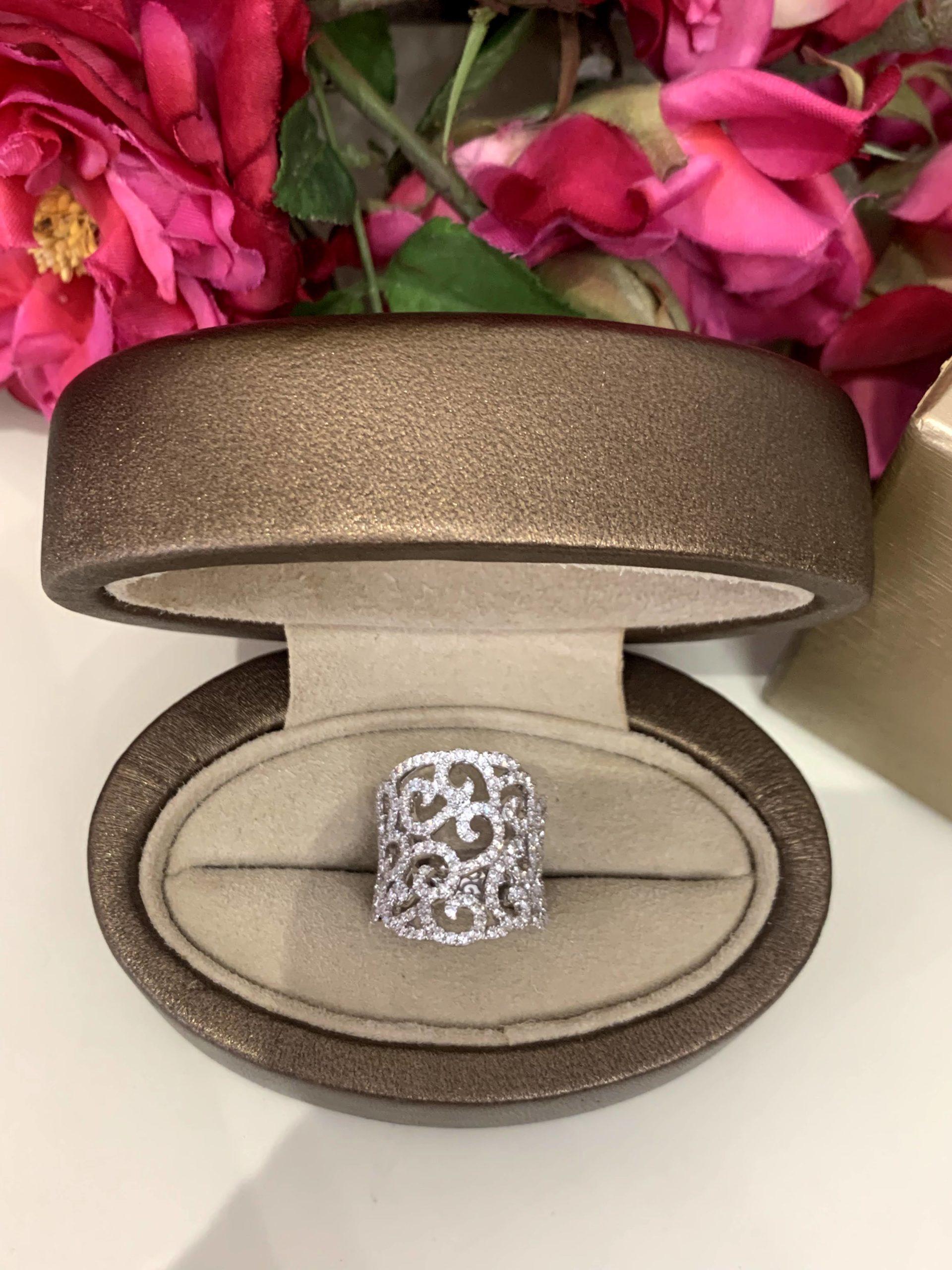 ALBOMONTE DIAMOND RING #1