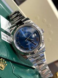 Швейцарские часы Rolex Datejust  II 41mm Steel and White Gold 116334 blro