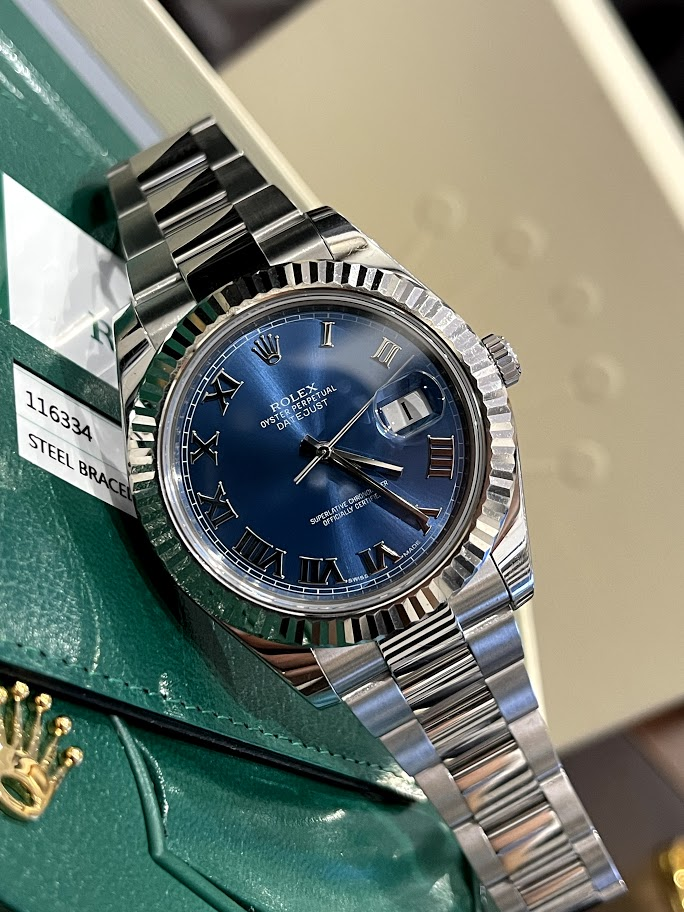 Datejust  II 41mm Steel and White Gold 116334 blro #1