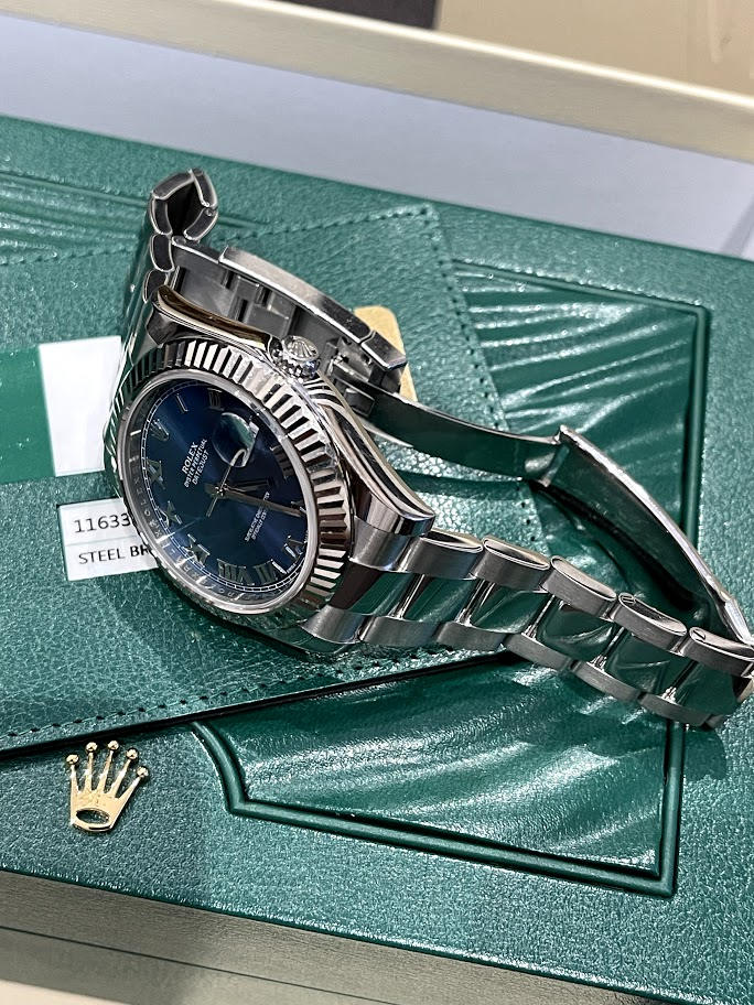 Datejust  II 41mm Steel and White Gold 116334 blro #3