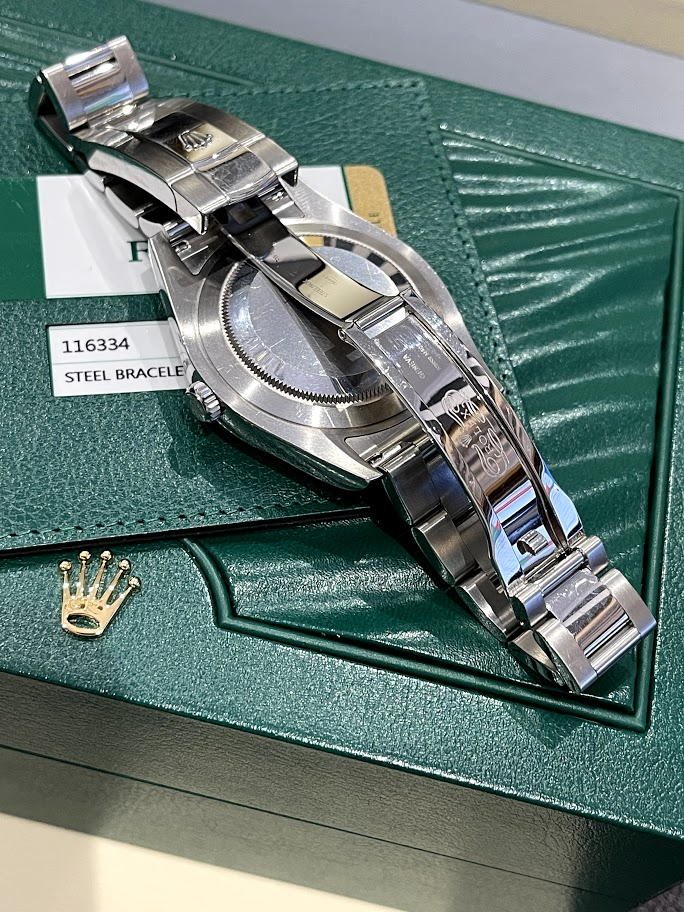 Datejust  II 41mm Steel and White Gold 116334 blro #2