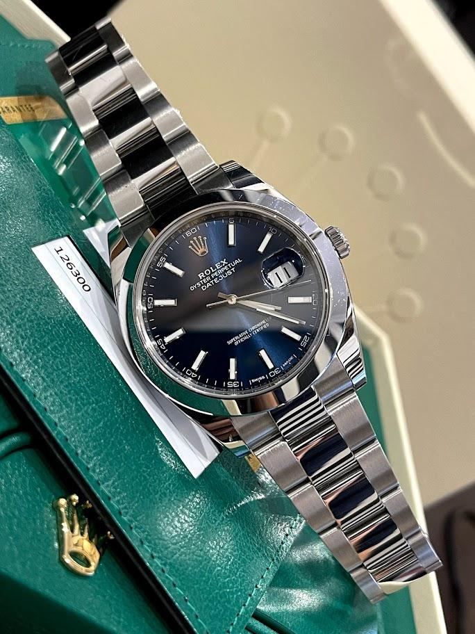 Datejust 41 mm, steel 126300-0001 #1