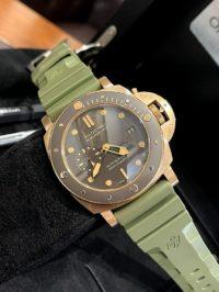 Швейцарские часы Panerai Submersible Bronzo 47mm PAM00968