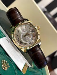 Швейцарские часы Rolex Sky-Dweller  42 mm, yellow gold 326138-0003