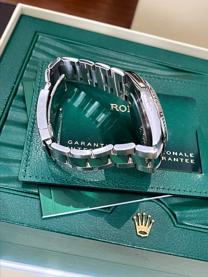 Datejust 41mm Steel and White Gold 126334-0025 #4