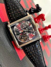 Швейцарские часы Roger Dubuis GoldensQuare  Skeleton Tourbillon G40 02SQ 7 V3.79 WG