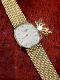 Швейцарские часы Patek Philippe Golden Elipse «Jumbo» 3738J