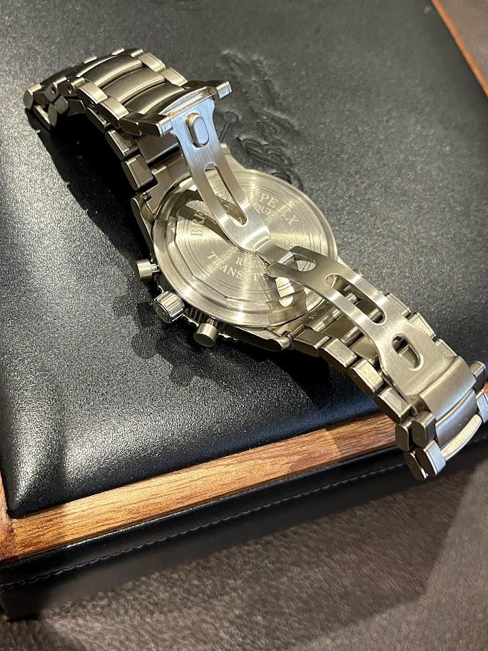 Type XX / Type XXI Transatlantique Chronograph Titanium 3820TI/K2/TW9 #2