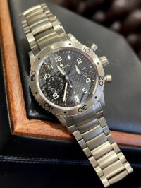 Швейцарские часы Breguet Type XX / Type XXI Transatlantique Chronograph Titanium 3820TI/K2/TW9