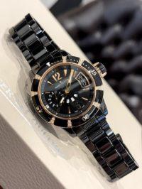Швейцарские часы Jaeger-LeCoultre Master Compressor Extreme Diving GMT Ladies Ceramique Q189LC70
