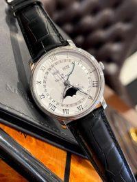 Швейцарские часы Blancpain Villeret Moon Phase Complete Calendar 40mm 6654A-1127-55B